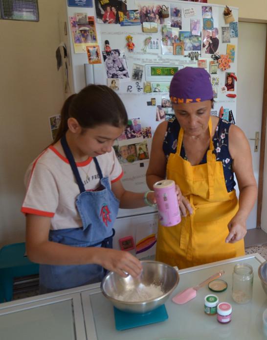 Les carnets d'Agnès atelier macarons
