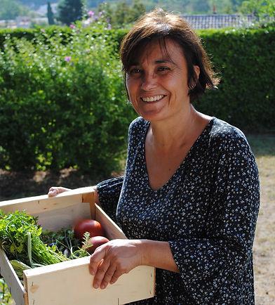 Les carnets d'Agnès retour du potager