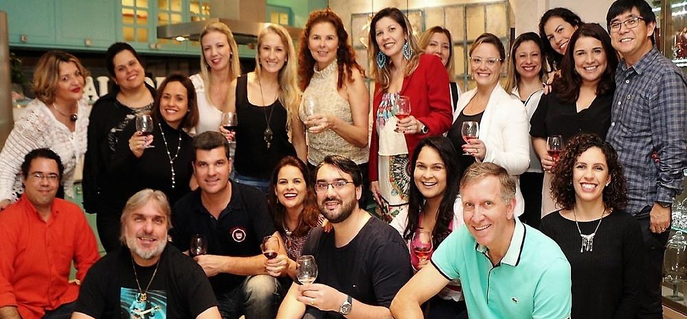 Integrantes do CineArt & Wine