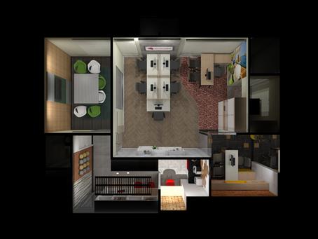 Amplitude e praticidade: separe seus ambientes pelo piso!