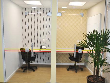 Phone booth em espaços corporativos é uma solução criativa