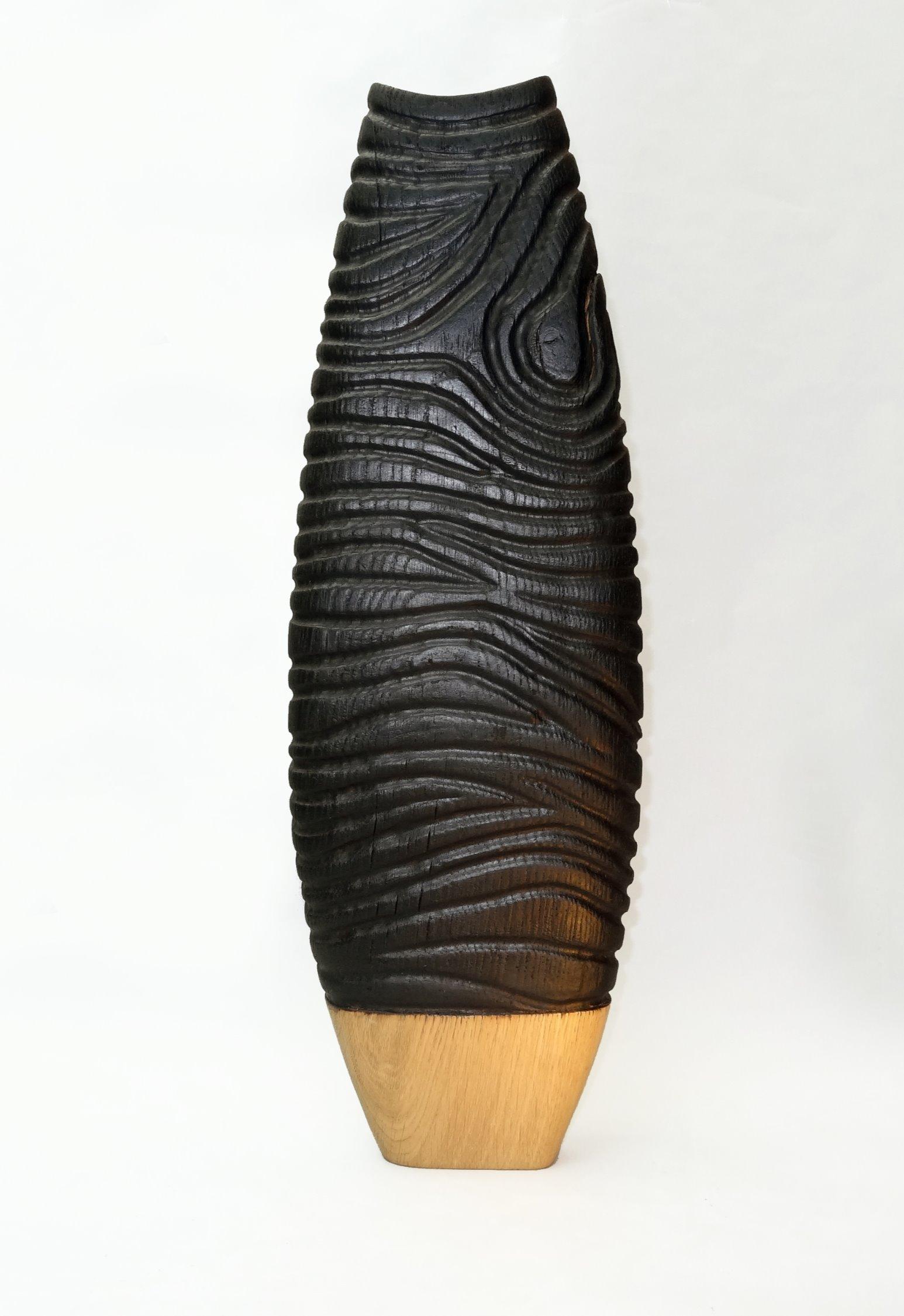 vase chene brule1