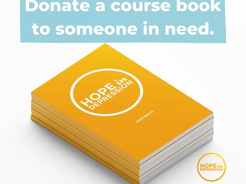 Donate a course book