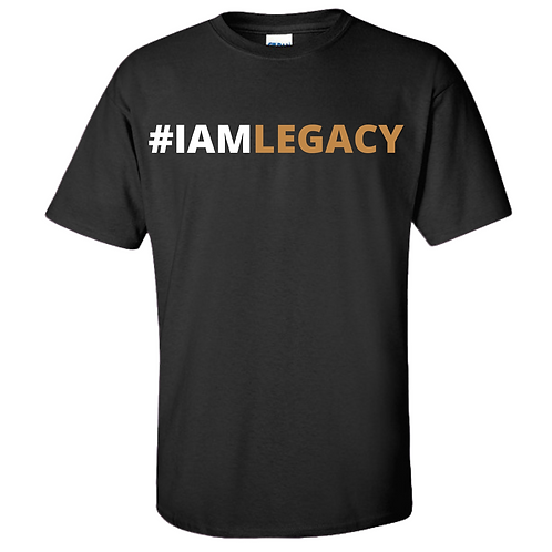 I AM LEGACY T-SHIRT (BLACK)