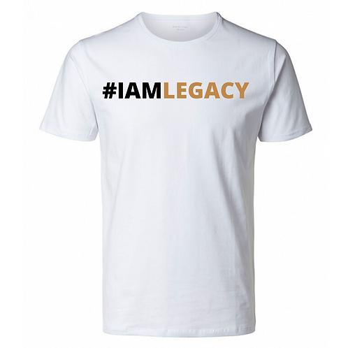 I AM LEGACY T-SHIRT (WHITE)