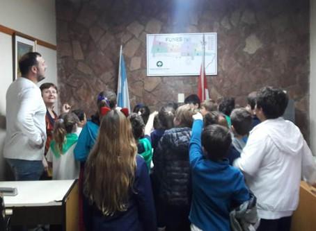 Alumnos 3º grado Escuela Nº 1388 Antonio Berni .