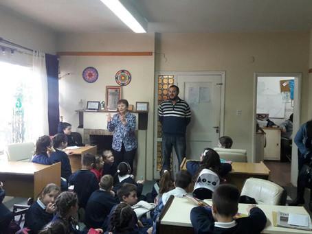 Visita de alumnos Colegio Nazaret