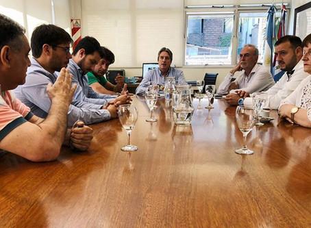 Reunión en el Ministerio de Infraestructura y Transporte de Santa Fe