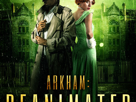 The Lovecraft Mysteries Book 2, Arkham: Reanimated is on sale now!