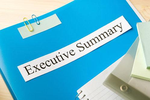 Executive Summary-Business Growth Plan