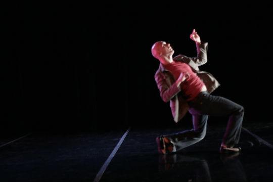 Jeff Fouch of Hixon Dance performing acclaimed solo dance by Sarah Hixon