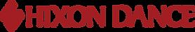 Hixon Dance Logo and Text Horizontal_Red