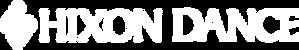 Hixon Dance Logo and Text Horizontal_Whi