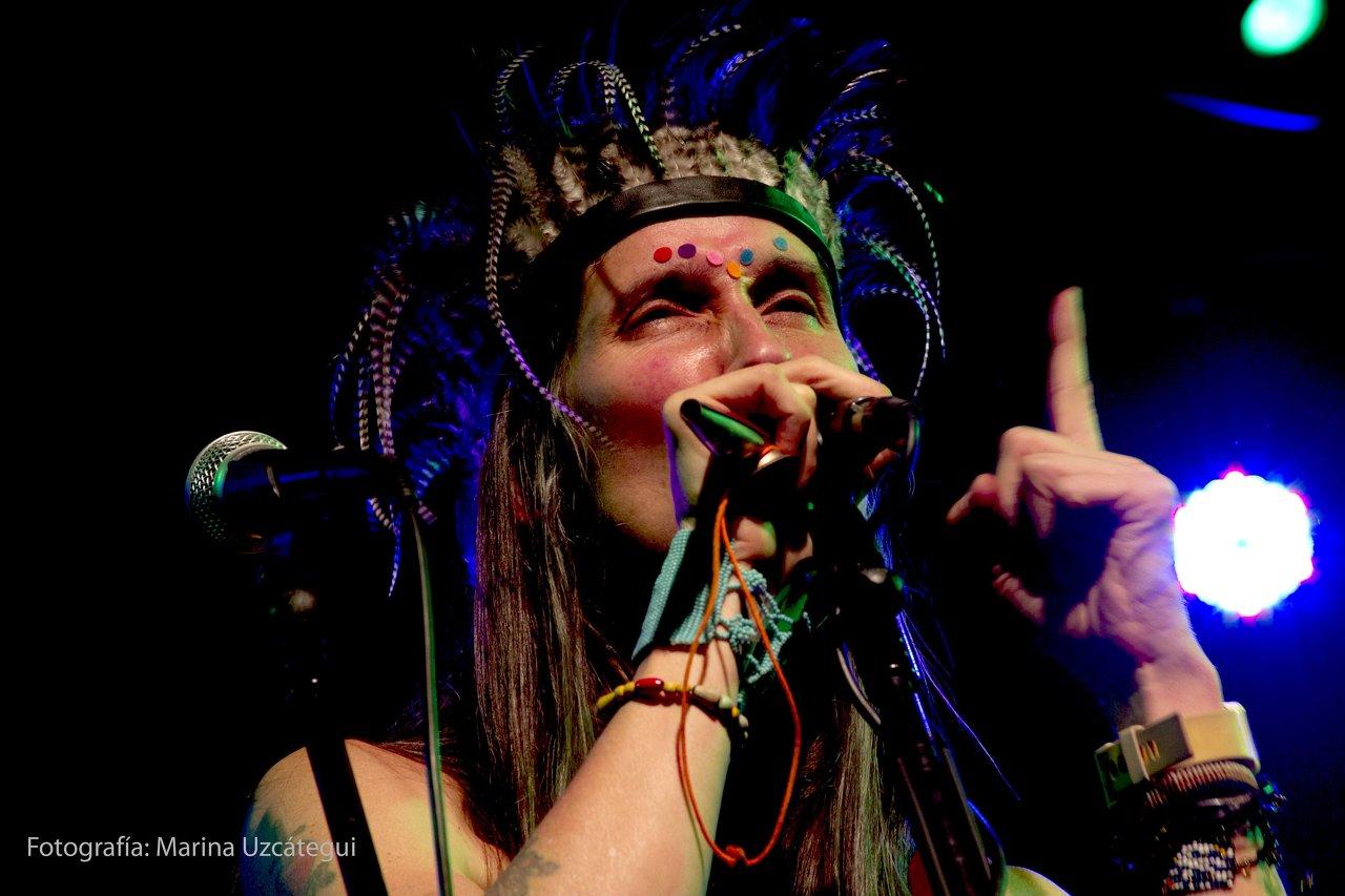 Singer Andrea Echeverri