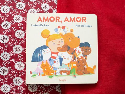 Libros para hablar sobre el AMOR para niños.