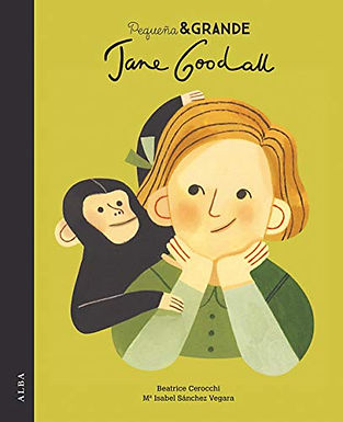 Jane Goodall Pequeñas y grandes