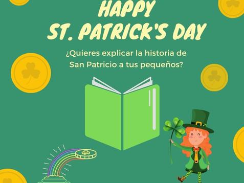 Libros sobre San Patricio solo uno en Español