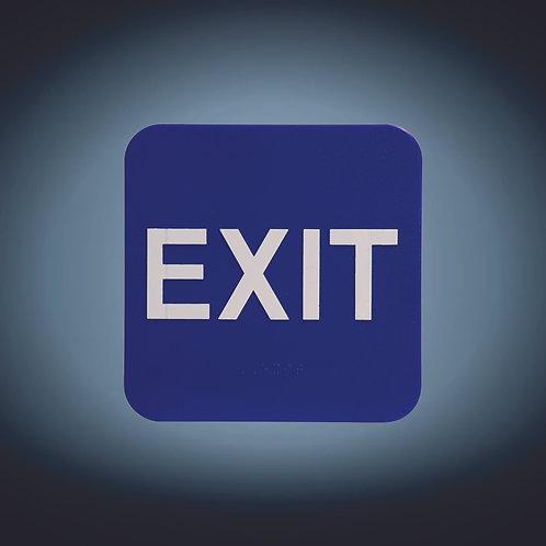 """Kota Pro 6"""" x 6"""" Exit ADA Sign"""