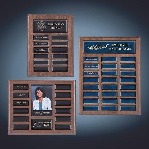 Recognition Pocket Perpetual Plaque