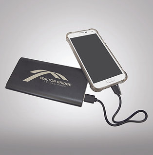 Power Bank & Wireless Anodized Aluminum Charger