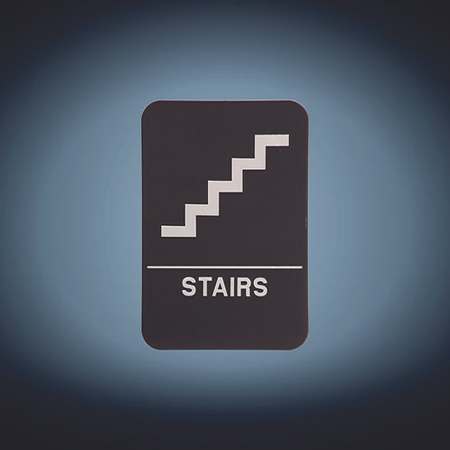 "Kota Pro 6"" x 9"" Stairs ADA Sign"