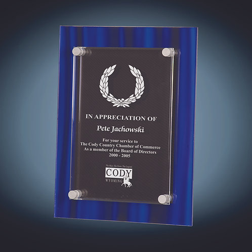 Stand-Off Acrylic Plaque