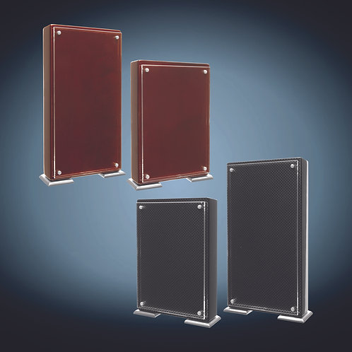 High Gloss Floating Acrylic Standup Plaque