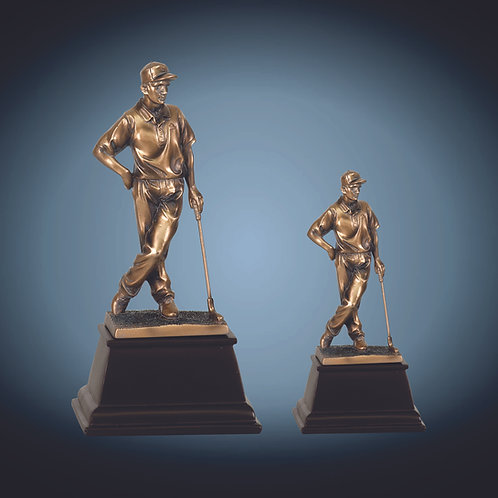 Bronze Golf Resin Award