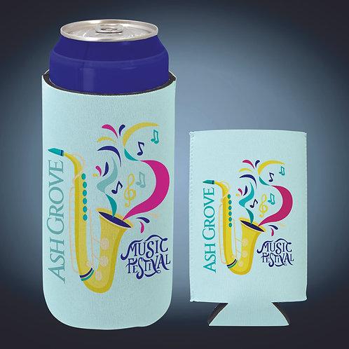 White Sublimatable 16 oz. Can Beverage Holder