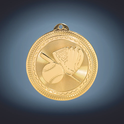 "Laserable BriteLazer Medal - 2"""