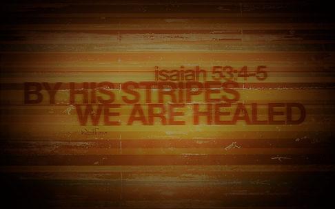 Bible healing Isaiah 53