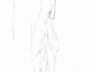 Drawing the Bride at the Fitting Room