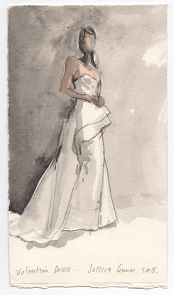 Jessica Gunn - Valentino Dress 2015