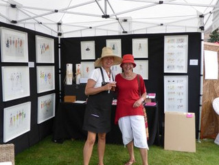 Fashion collections illustrated at the Wanaka Show