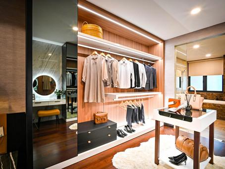 Como transformar o provador de roupas em um ambiente agradável?