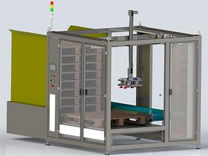 O que é Uma Máquina Paletizadora Automática