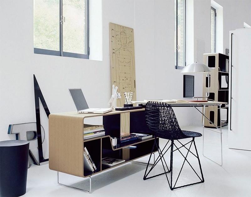 escritorios modernos e interativos