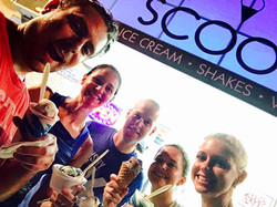 Scoops after Conshy Running