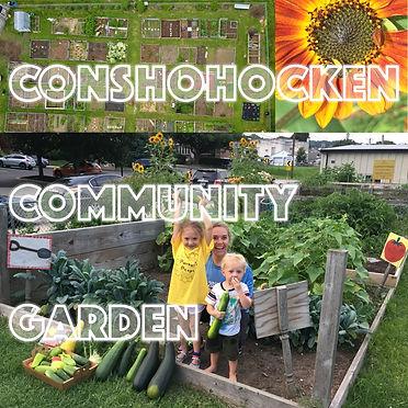 Conshohocken Community Garden - Arts and