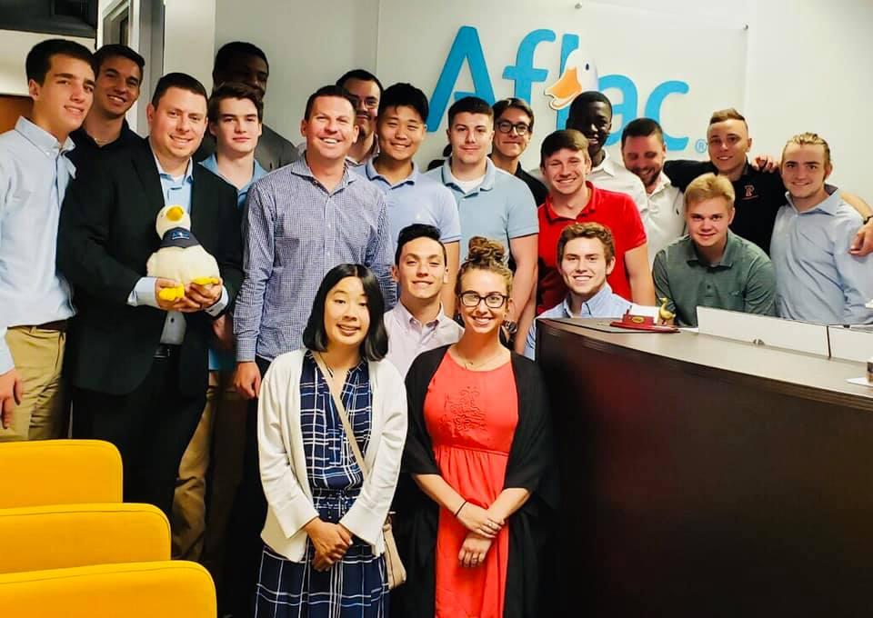 Aflac interns