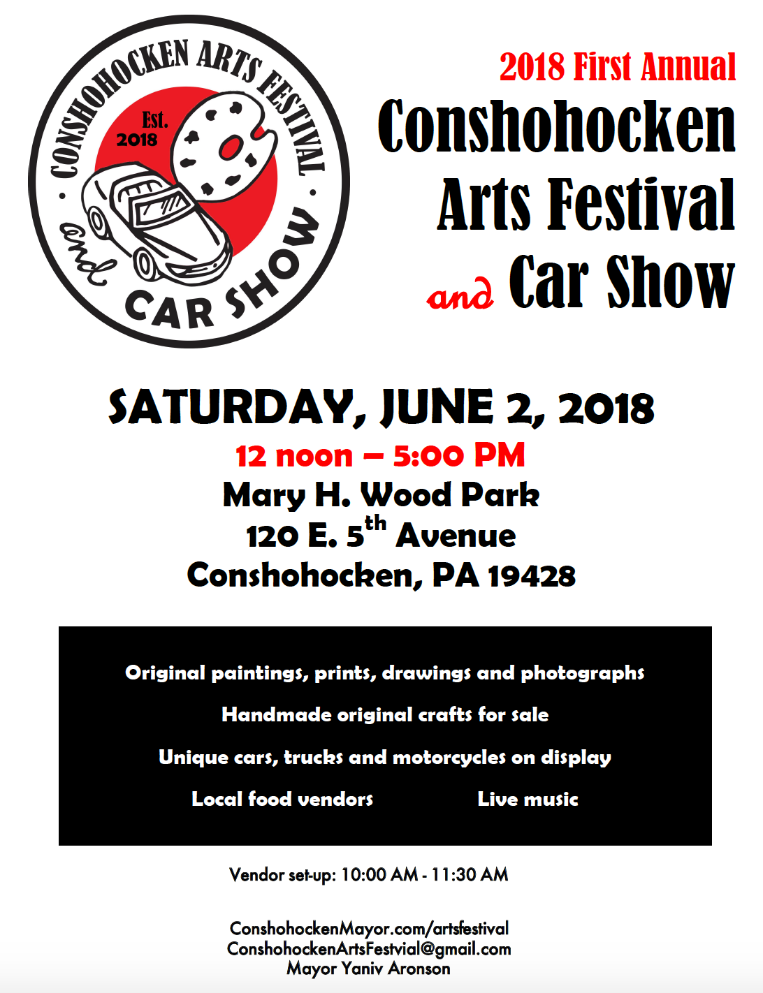 Arts Festival and Car Show