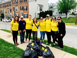 CPW Rotary Trail Cleanup