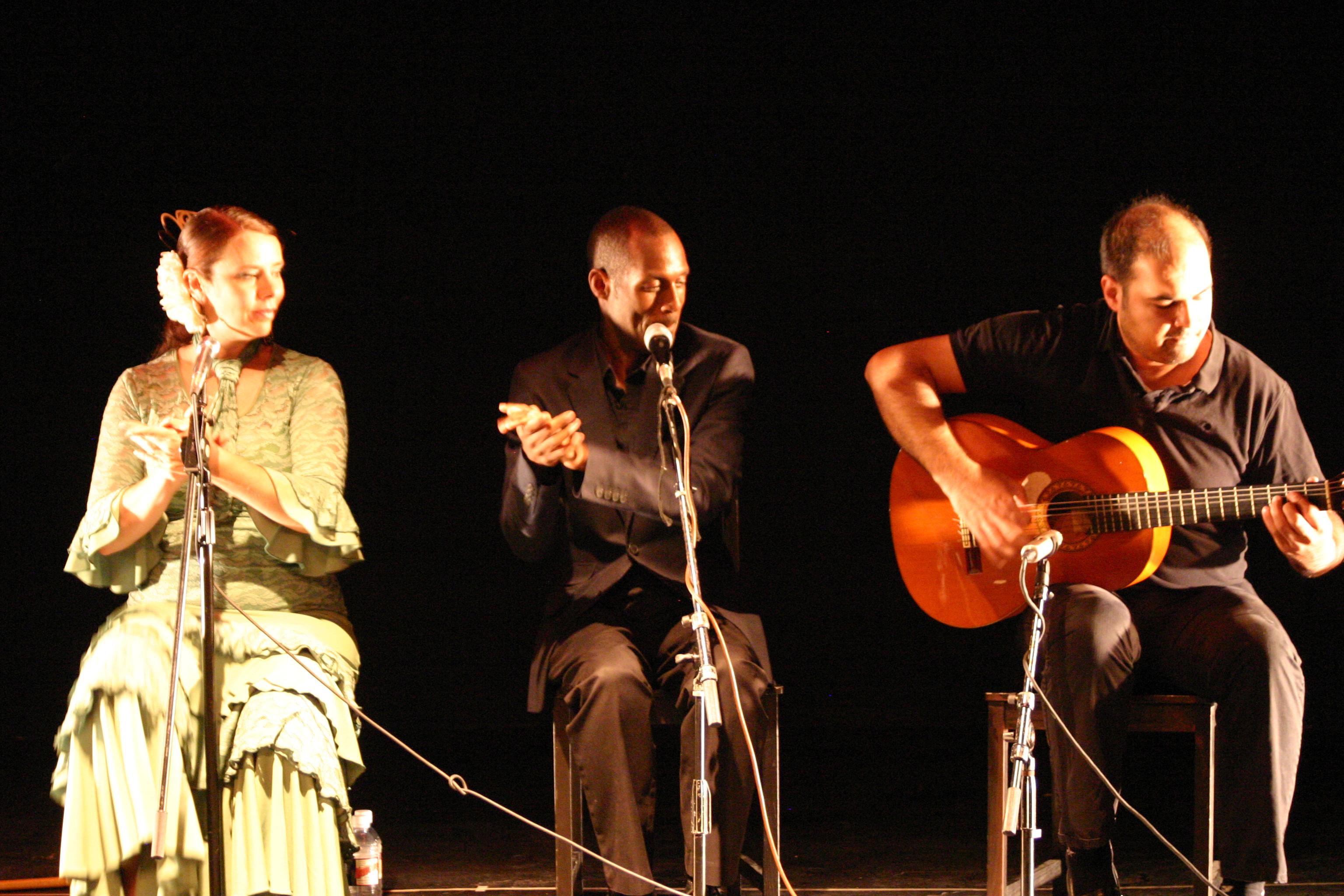 Claudia, Carlton, Behzad 2013
