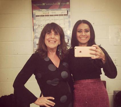 Natalia and Pam