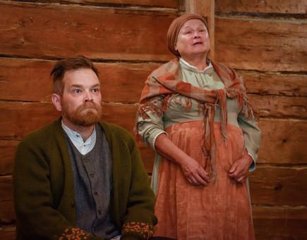 Alexis Stenvall ja Äiti, os. sepäntytär Annastiina Hamberg
