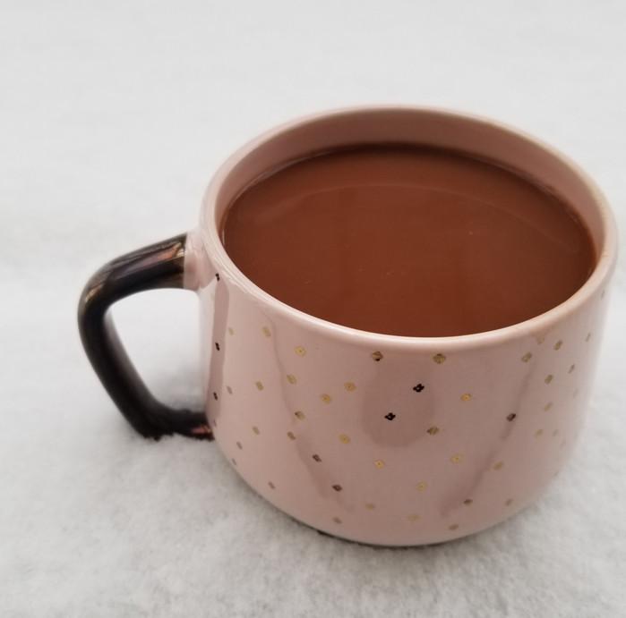 Homemade Vegan Hot Chocolate