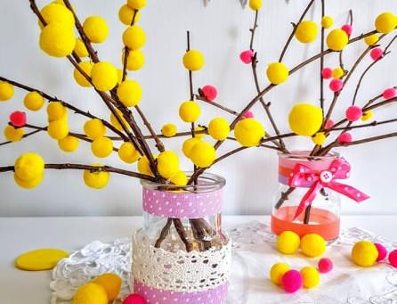 Mimosa di pom pom