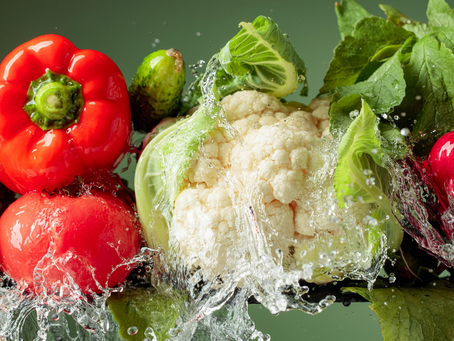 Why is it important to use a fruit and vegetable wash?