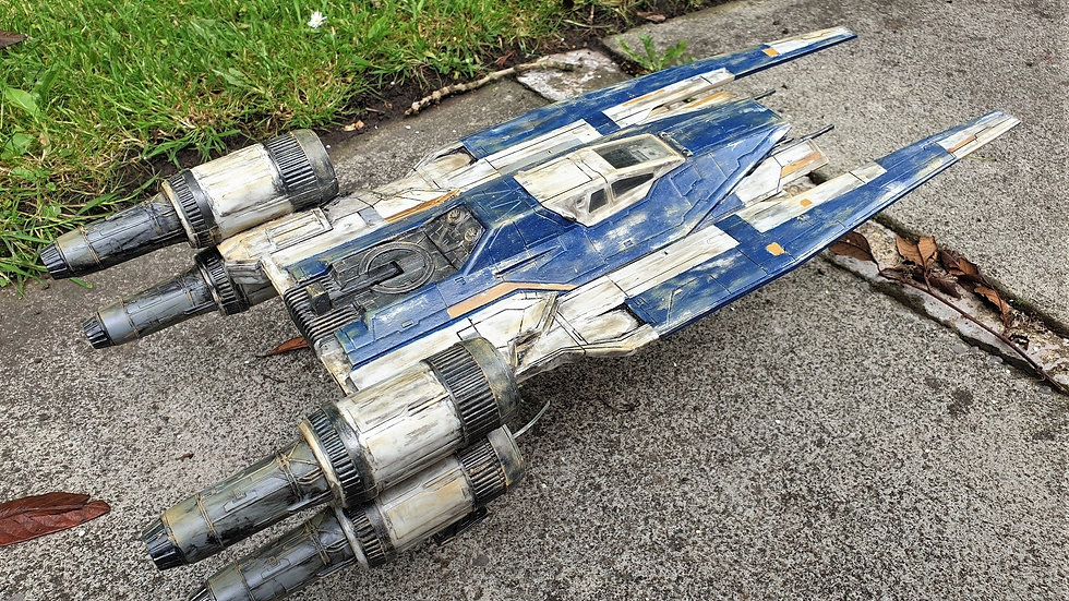 STAR WARS Rogue One BLUE SQUADRON U-WING
