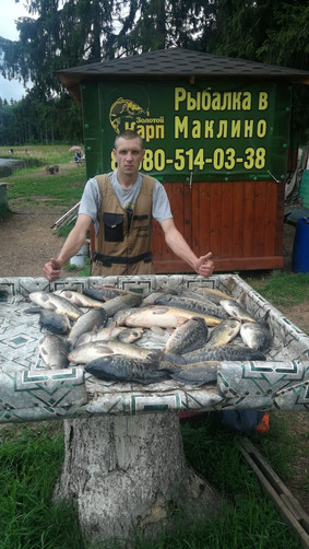 Вся рыба поймана в конце водоёма